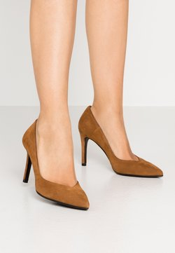 Alberto Zago - High Heel Pumps - cognac