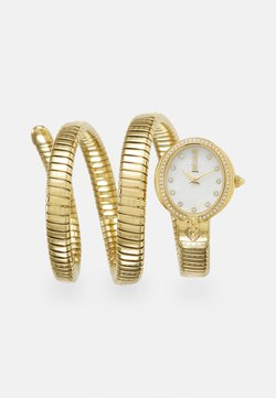 Just Cavalli - DROUBLE WRAP WATCH - Uhr - gold-coloured/white