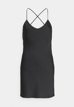 Topshop - SLIP UPDATE - Cocktailkleid/festliches Kleid - black
