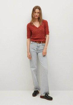 Mango - T-Shirt print - rood