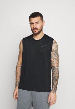 Nike Performance - DRY TANK - Top - black/dark grey