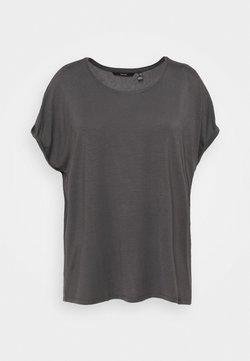 Vero Moda Curve - VMAVA PLAIN - T-Shirt basic - asphalt