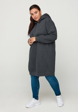 Zizzi - Jerseykleid - dark grey