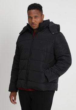Urban Classics - HOODED PUFFER JACKET  - Winterjacke - black