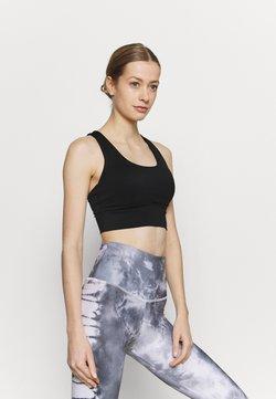 Cotton On Body - ULTIMATE LONGLINE CROP - Sport-bh met light support - black