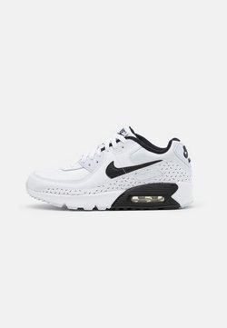 Nike Sportswear - AIR MAX 90 UNISEX - Matalavartiset tennarit - white/black