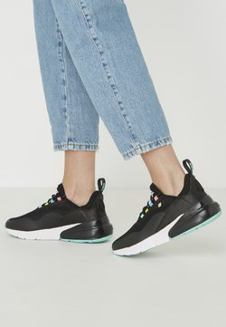 British Knights - VALEN - Sneakers laag - black/turquoise/multi