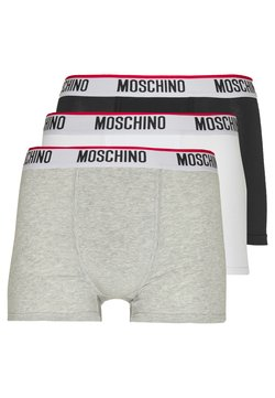 Moschino Underwear - 3 PACK - Shorty - black/white/gray melange