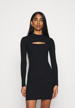 Topshop - MINI  - Vestido ligero - black