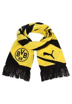 Puma - BORUSSIA DORTMUND  - Schal - black/cyber yellow