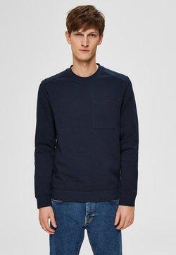 Selected Homme - SLHFRANK - Sweatshirt - sky captain