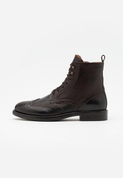 Marc O'Polo - LACE UP BOOT - Schnürstiefelette - dark brown