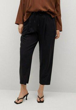 Violeta by Mango - FLUIDO - Pantalon de survêtement - noir