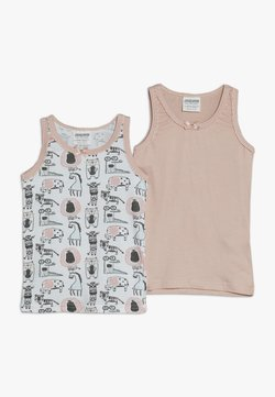 Jacky Baby - VEST ANIMALS 2 PACK - Caraco - light pink