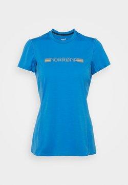 Norrøna - BITIHORN TECH - T-Shirt print - campanula