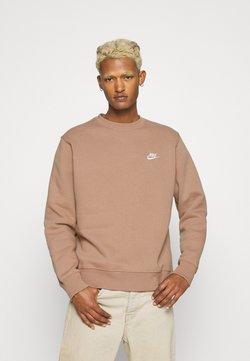 Nike Sportswear - CLUB CREW - Sweatshirt - desert dust