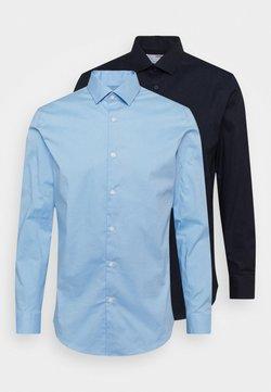 Selected Homme - SLHSLIMBROOKLYN SHIRT 2 PACK - Formal shirt - light blue/navy blazer