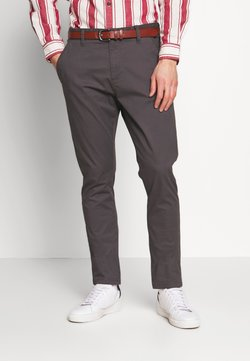 INDICODE JEANS - GOVER - Chinos - dark grey