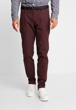 Lindbergh - CLASSIC WITH BELT - Chinot - dark bordeaux