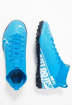 Nike Performance - JR MERCURIAL 7 ACADEMY TF UNISEX - Scarpe da calcetto con tacchetti - blue hero/white/obsidian