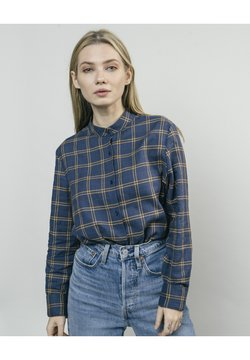 Brava Fabrics - WOODCUTTER ESSENTIAL - Hemdbluse - blue