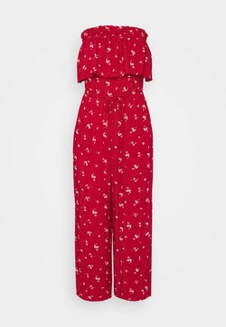Hollister Co. - STRAPLESS - Combinaison - red