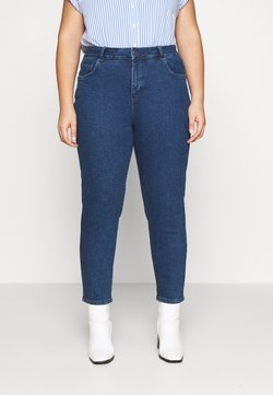 MY TRUE ME TOM TAILOR - ANKLE LENGTH - Relaxed fit jeans - dark stone blue denim