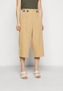 ONLY Petite - ONLTHEIA JOURNEY LIFE CULOTT - Pantaloni - iced coffee