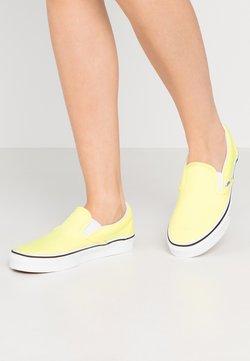 Vans - CLASSIC UNISEX - Półbuty wsuwane - lemon tonic/true white