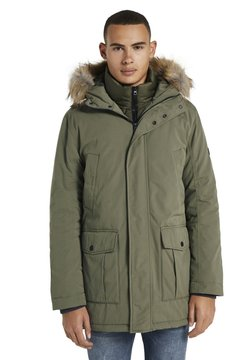 TOM TAILOR DENIM - Wintermantel - tree moss green