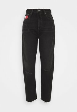 Tommy Jeans - MOM ULTRA  - Jeans Relaxed Fit - black denim