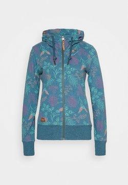 Ragwear - PAYA FLOWERS - Strickjacke - blue