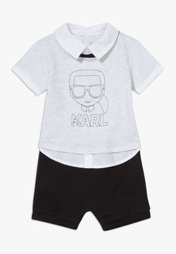 KARL LAGERFELD - ALL IN ONE BABY - Jumpsuit - grey/black