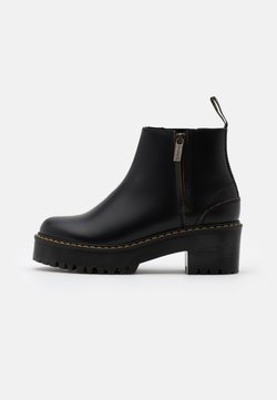 Dr. Martens - ROMETTY  - Plateaustiefelette - black vintage smooth