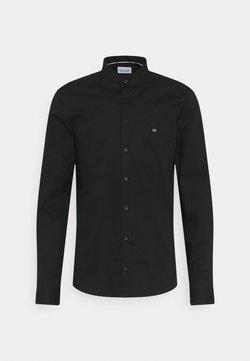 Calvin Klein Tailored - LOGO STRETCH SLIM - Businesshemd - black