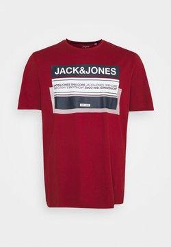 Jack & Jones - JCOBOOSTER TEE CREW NECK - T-shirt imprimé - sun-dried tomato