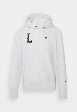 Champion Reverse Weave - HOODED LONDON - Sweater - mottled light grey
