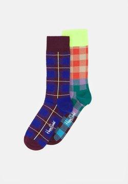 Happy Socks - ELECTRIC BUSINESS BUSINESS 2 PACK UNISEX - Socken - multi