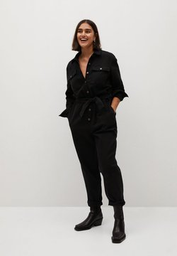 Violeta by Mango - GWYNETH - Jumpsuit - black denim