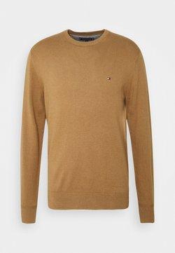 Tommy Hilfiger - PIMA CREW NECK - Stickad tröja - brown