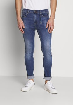 Blend - ECHO MULFITFLEX - Jeans Slim Fit - denim middle blue