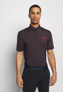 adidas Golf - Polo shirt - black/power pink/tech emerald