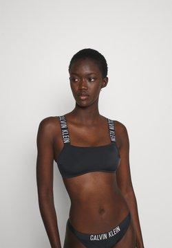 Calvin Klein Swimwear - INTENSE POWER BANDEAU - Bikini top - black