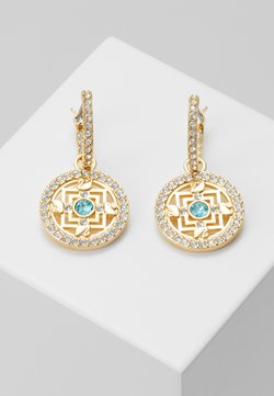 Swarovski - SYMBOL HOOP MANDALA - Earrings - gold-coloured