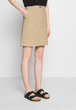 Marc O'Polo - SKIRT CHINO STYLE SHORT LENGTH - A-Linien-Rock - swedish pine