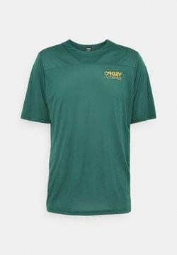 Oakley - CASCADE TRAIL TEE - T-Shirt print - bayberry