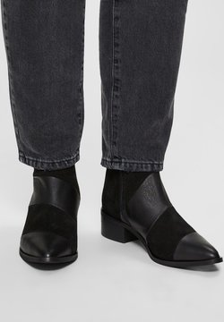 Selected Femme - Stiefelette - black