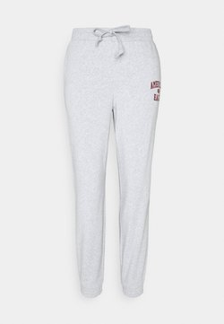 American Eagle - BRANDED PANT - Jogginghose - heather gray