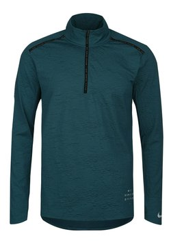 Nike Performance - ELEMENT - Funktionsshirt - dark teal green / black / refeltive silver