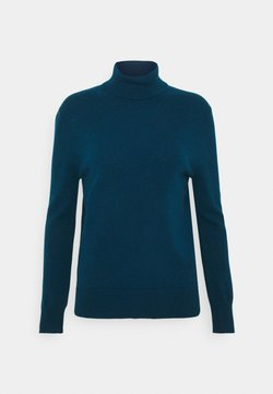 pure cashmere - TURTLENECK - Strickpullover - rich teal